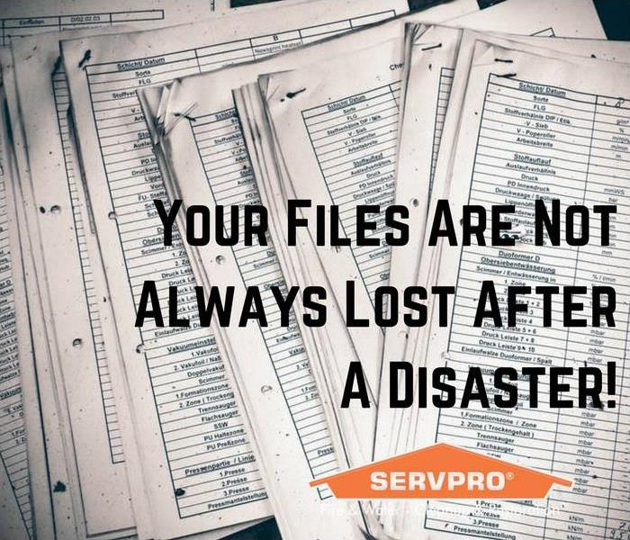 Cleaning Myrtle Beach Fires & Floods Can Ruin Your Documents
