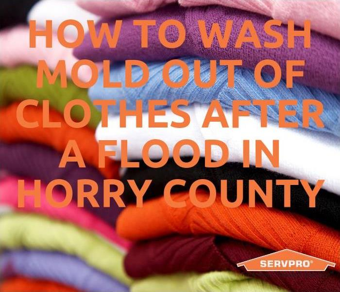 Mold Remediation How To Wash Mold Out Of Clothes After A Flood In Horry County