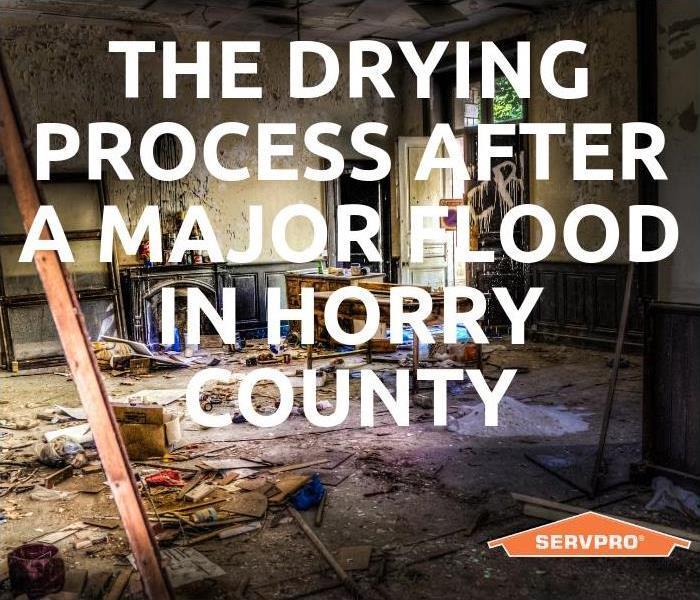 Why SERVPRO The Drying Process After A Major Flood In Horry County